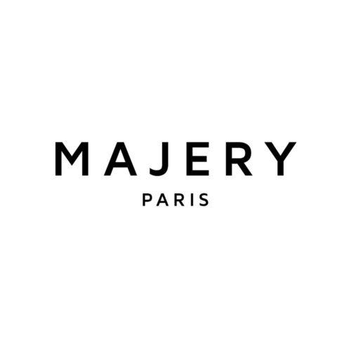 Majery white logo